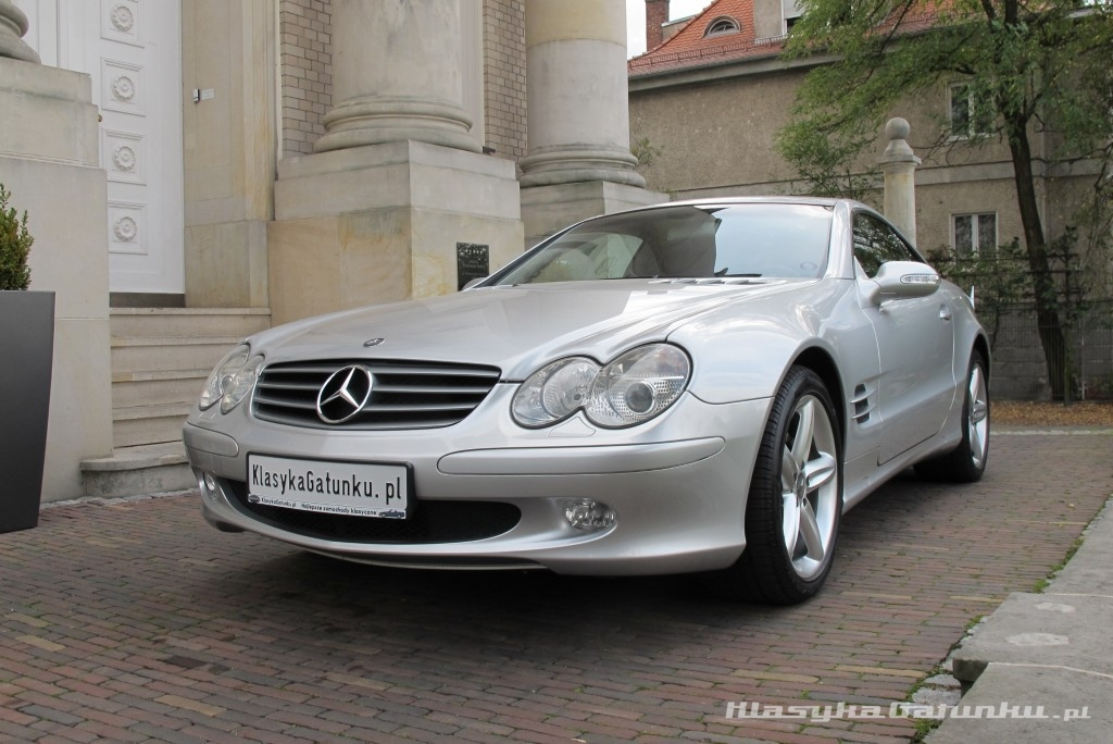 mercedes sl 500 r230. Black Bedroom Furniture Sets. Home Design Ideas